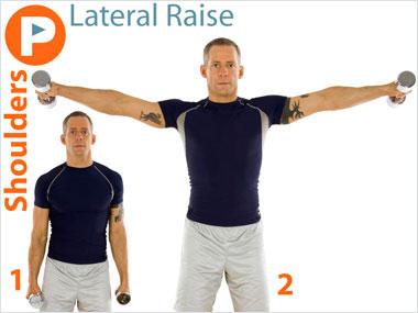 FitnessBuilder Lateral Raise