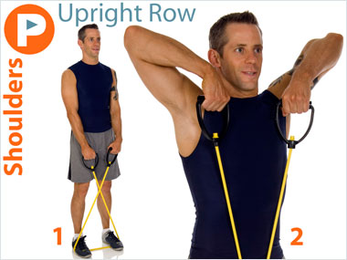 FitnessBuilder Upright Row