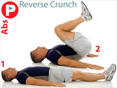 FitnessBuilder Reverse Crunch