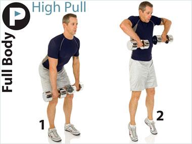 FitnessBuilder High Pull
