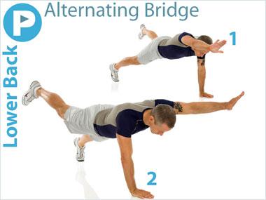 FitnessBuilder Alternating Bridge