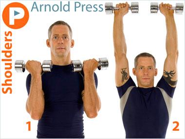 FitnessBuilder Arnold Press