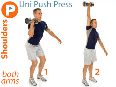 FitnessBuilder Uni Push Press