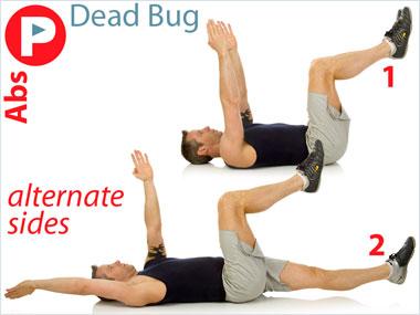 FitnessBuilder Dead Bug
