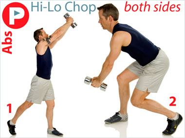 FitnessBuilder Hi-Lo Chop
