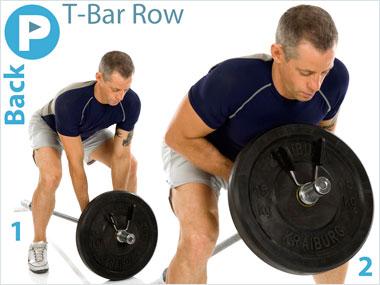 FitnessBuidler T-Bar Row
