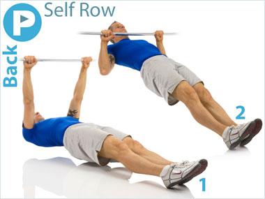 FitnessBuilder Self Row