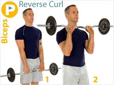 FitnessBuilder Reverse Curl