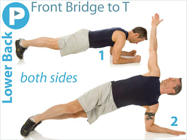 FitnessBuilder Front Bridge to T