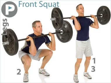 FitnessBuilder Front Squat