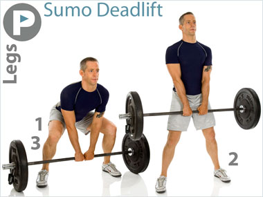 Fitness Builder Sumo Deadlift
