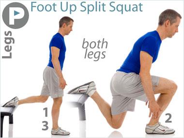 FitnessBuilder Foot Up Split Squat