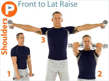FitnessBuilder Front to Lat Raise