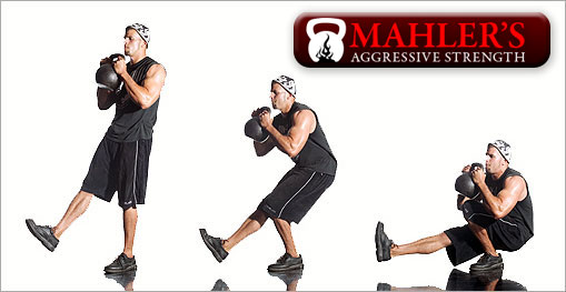 Mike Mahler Kettlebell exercise